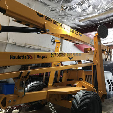 Aerial Boomlift Certified